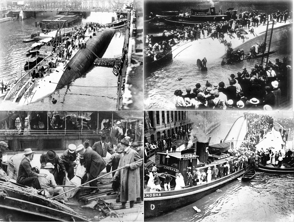 Eastland disaster on July 24, 1915