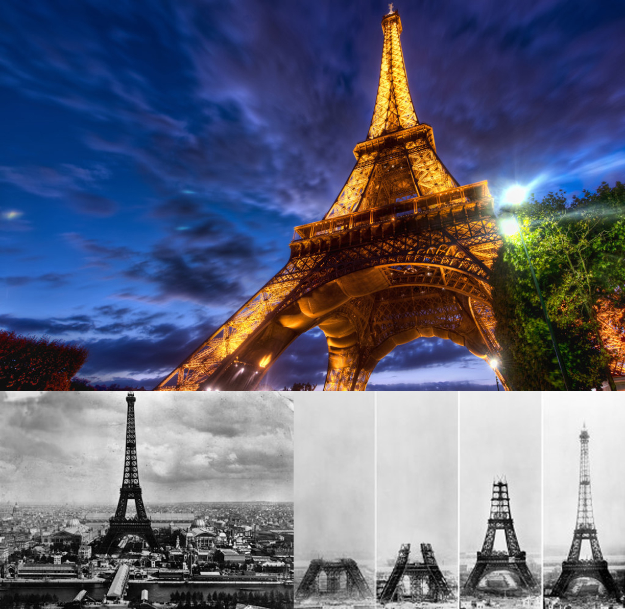 Eiffel Tower opens on March 31, 1889
