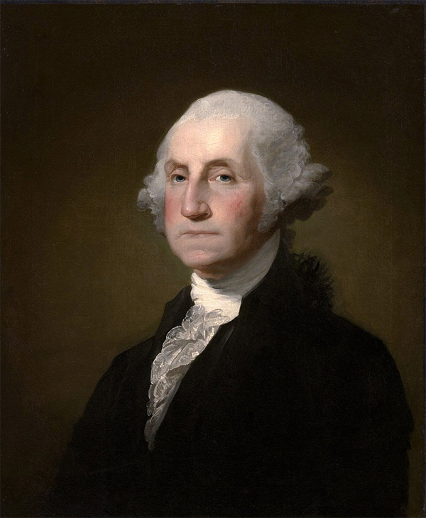 First United States president elected on February 04, 1789