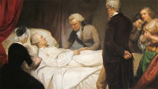 George Washington dies on December 14, 1799