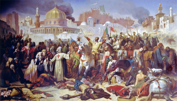 Jerusalem captured in First Crusade on July 13, 1099