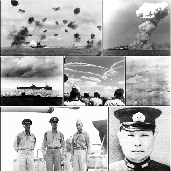 United States scores major victory against Japanese in Battle of the Philippine Sea on June 19-20, 1987