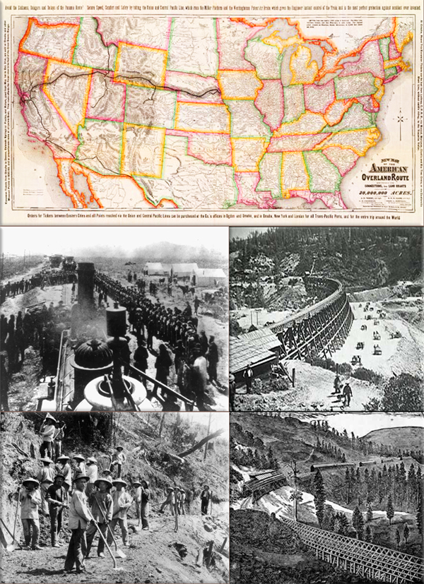 Railroads create the first time zones on November 18, 1883