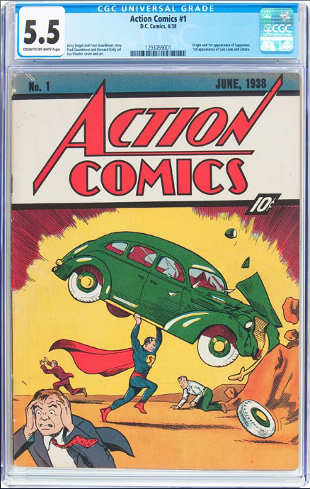 Rare Superman comic sold at auction for close to $1 million