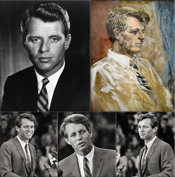 Bobby Kennedy is assassinated; on June 5, 1968