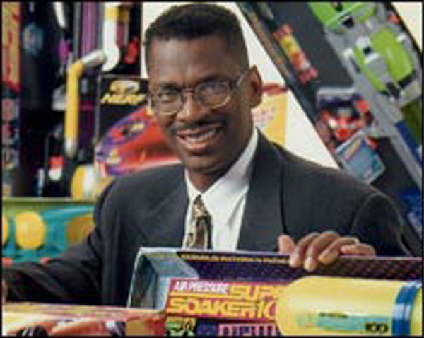 Lonnie Johnson inventor of the Super Soaker