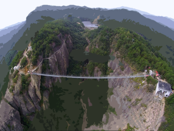 That terrifying glass bridge in China? It cracked.