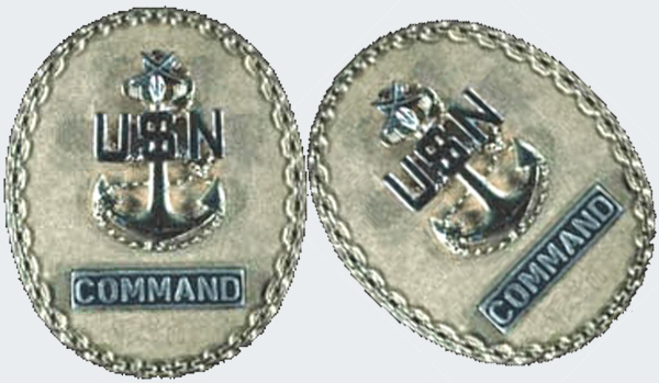 """The Chief of the Boat"" Command Senior Chief badge"