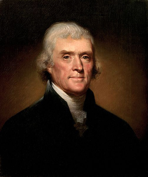 Thomas Jefferson is elected on February 17, 1801