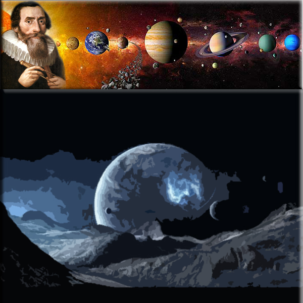 Universe is created, according to Kepler on April 27, 4977 B.C.