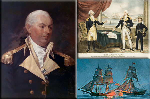 U.S. Navy captures first British warship on April 7, 1776