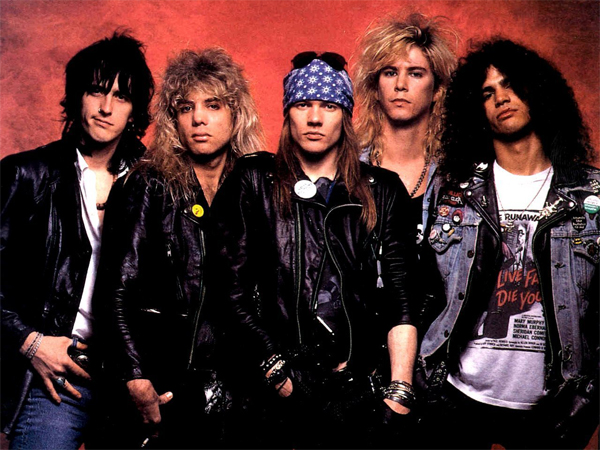 """Welcome To The Jungle"" - Guns N' Roses 1987"