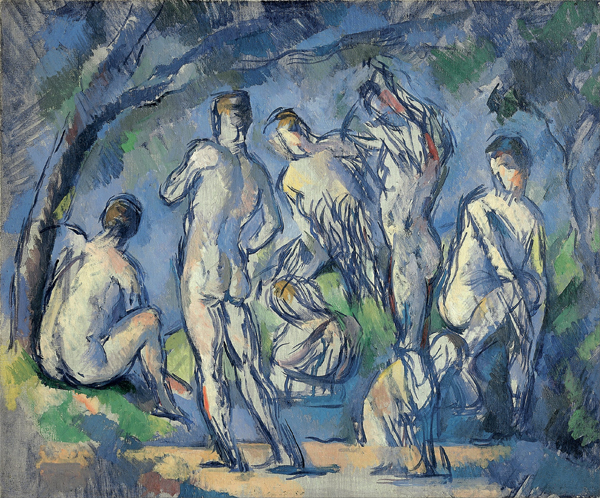"Where Did That Saying Come From? ""Short shrift"" (Why Naked Men Get Short Shrift - Paul Cézanne's ""Seven Bathers"" Fondation Beyeler, Riehen/Basel)"