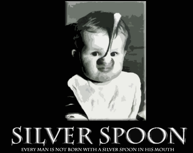 "Where Did That Saying Come From? ""Born with a silver spoon in one's mouth"""