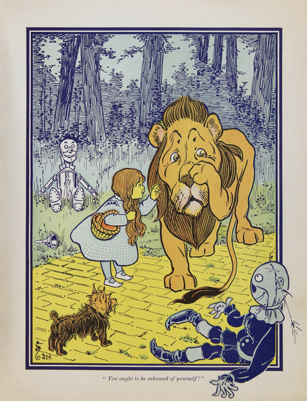 "Where Did That Saying Come From? ""Yellow"" (The Cowardly Lion, from The Wonderful Wizard of Oz.)"