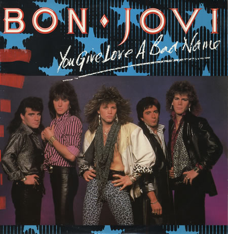 """You Give Love A Bad Name"" - Bon Jovi 1986"